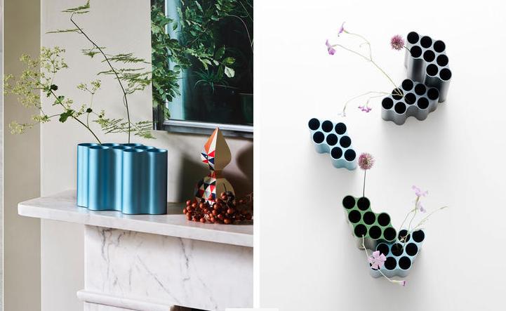 I vasi moderni da interno di vitra firmati bouroullec for Vasi per piante da interno moderni