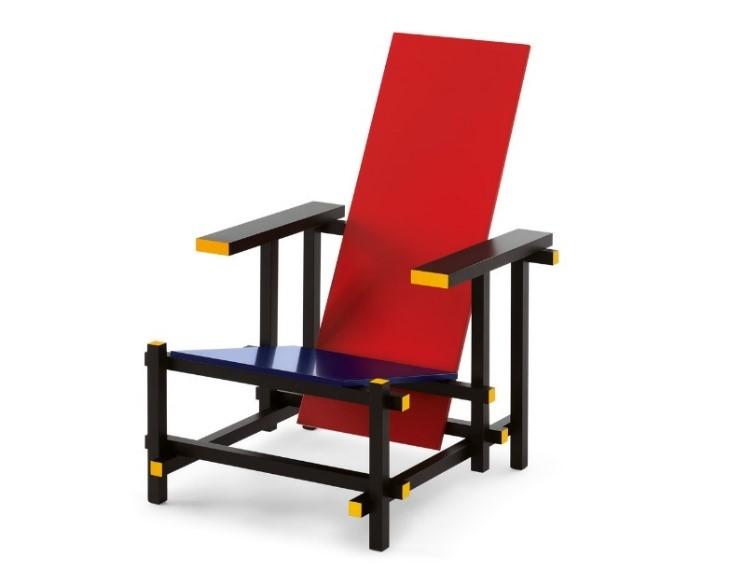 Storia della sedia Rossa e Blu