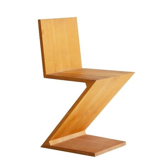 Storia della sedia Zig Zag